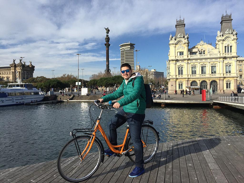 Barcelona'da bisiklet kiraladım!