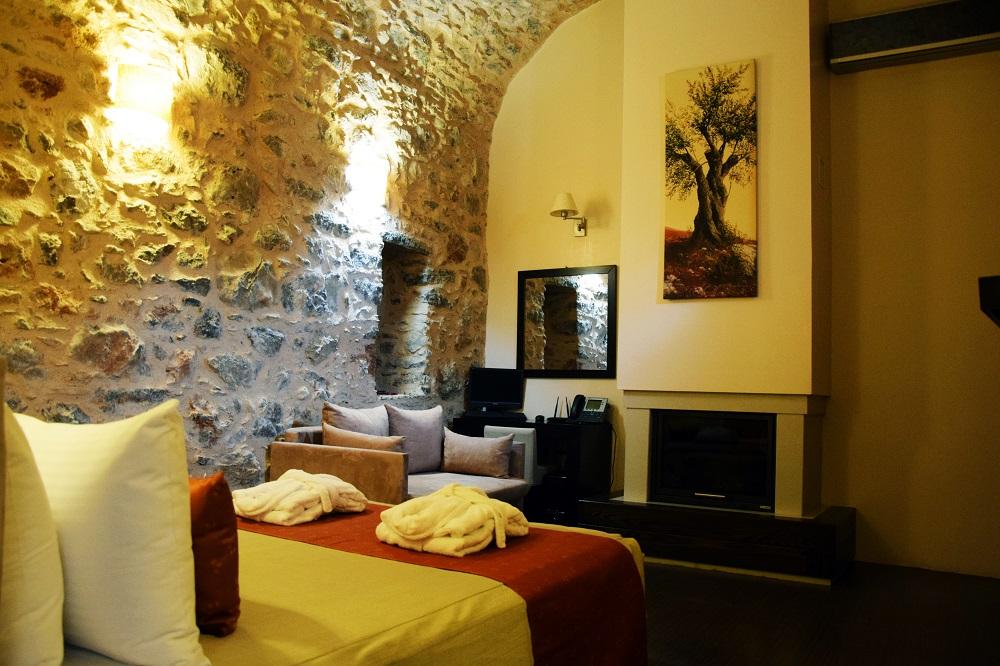 Medieval Castle'in taş odaları