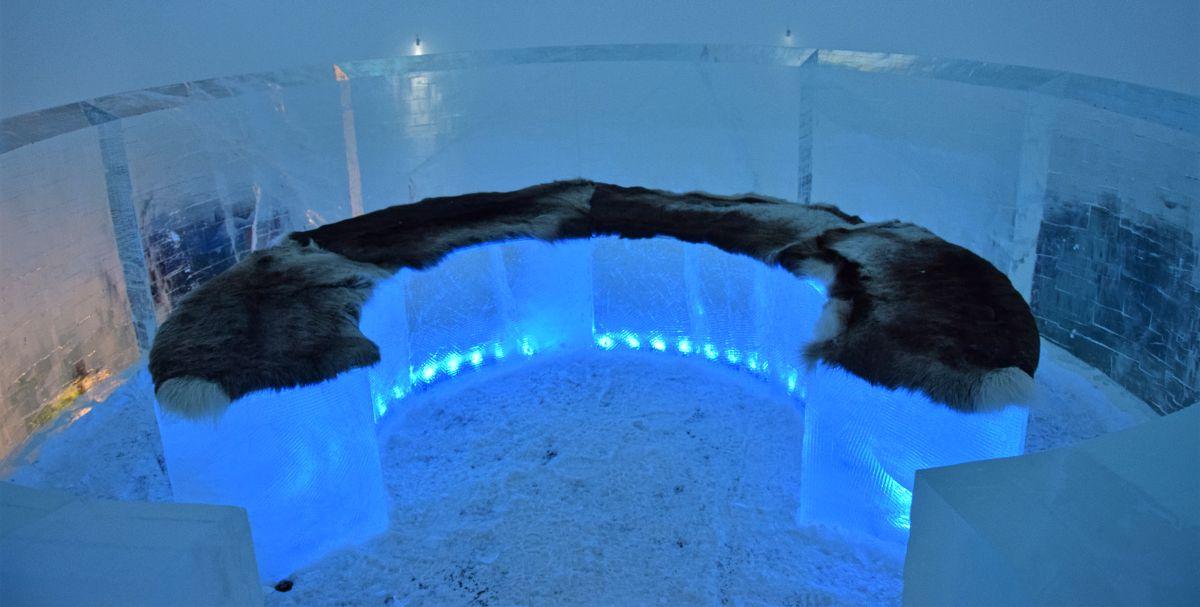 Buzun sanata dönüştüğü yer: Ice Hotel