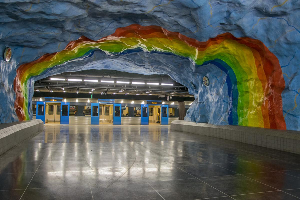 Stockholm Metro Galerisi