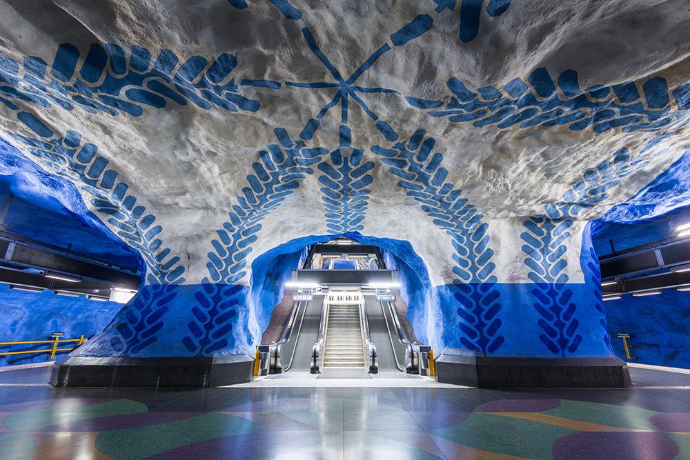 Yer Altı Sanatı: Stockholm Metrosu