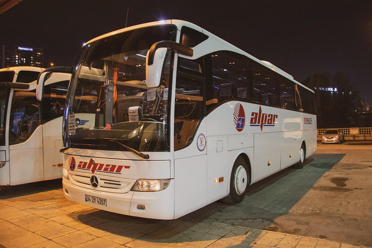 Kavala Otobüs Ulaşımı - Alpar Turizm