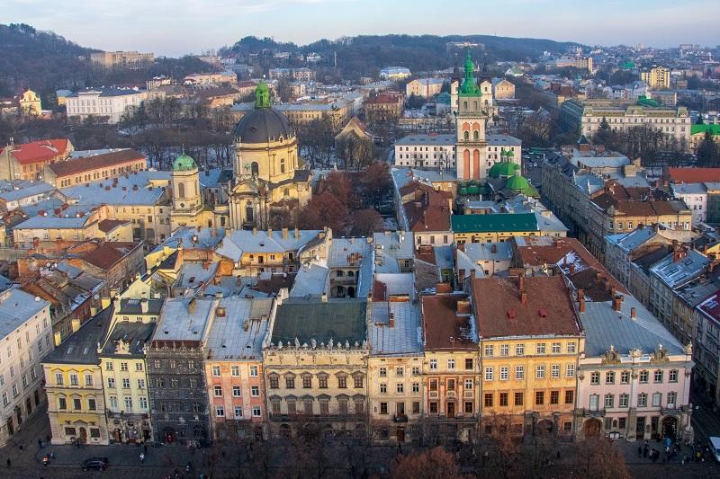 Kimlikle Seyahat Ukrayna Lviv