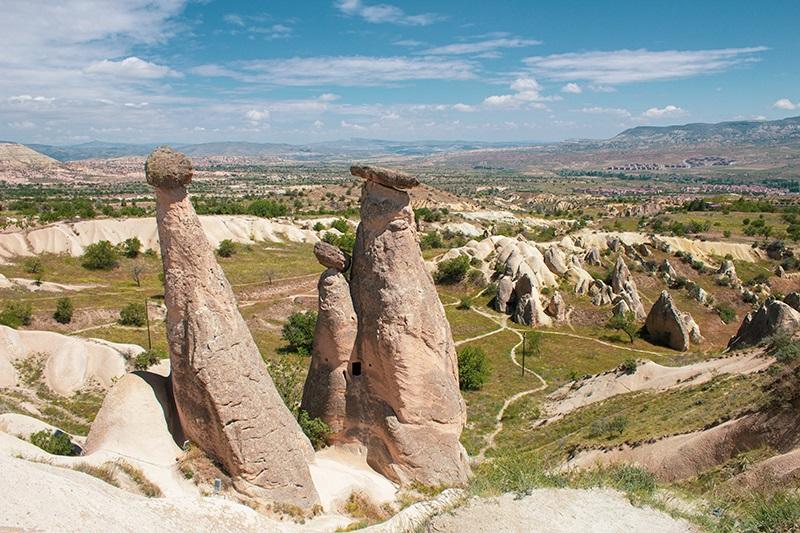 Kapadokya Üç Güzeller