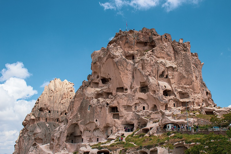 Kapadokya Uçhisar Kalesi
